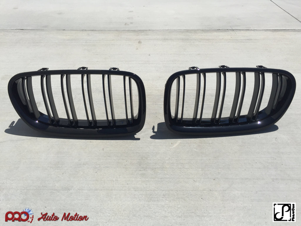 (Backordered until 03/30) 2011-2016 BMW F10 5 Series M5 Style Kidney Grilles
