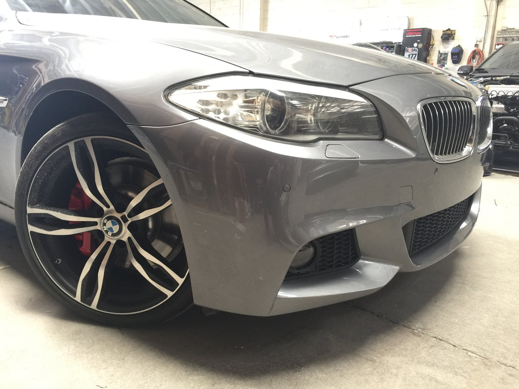 2011-2017 BMW F10 5 Series M Sport Style Front Bumper Conversion