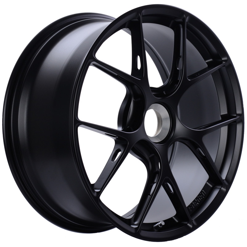 BBS FI-R 20x9 Center Lock ET52 CB84 Satin Black Wheel