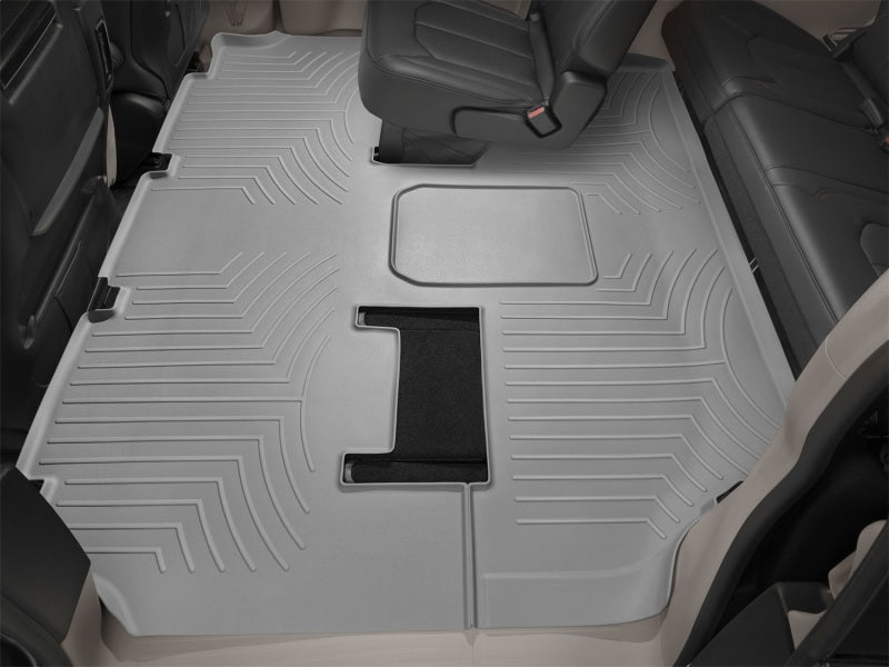 WeatherTech 18+ Land Rover Range Rover (LWB/No 2nd Row Console) Rear FloorLiner - Grey