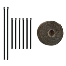 Load image into Gallery viewer, Mishimoto 2 inch x 35 feet Heat Wrap with Stainless Locking Tie Set