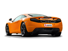Load image into Gallery viewer, Akrapovic 12-14 McLaren 12C/12C Spyder Slip-On Line (Titanium) w/ Carbon Tips