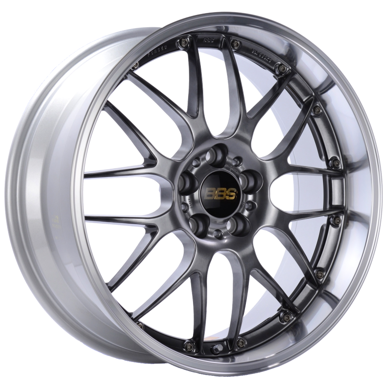 BBS RS-GT 18x11 5x130 ET45 CB71.6 Diamond Black Center Diamond Cut Lip Wheel