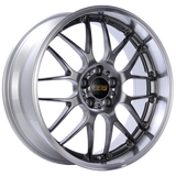 BBS RS-GT 18x9.5 5x112 ET32 Diamond Black Center Diamond Cut Lip Wheel -82mm PFS/Clip Required