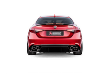 Load image into Gallery viewer, Akrapovic 17-19 Alfa Romeo Giulia Quadrifoglio Evolution Line Cat Back (Titanium)