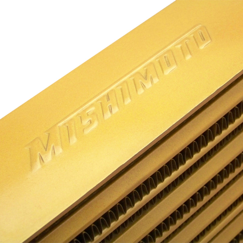 Mishimoto Eat Sleep Race Special Edition Gold M-Line Intercooler