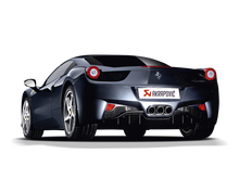 Load image into Gallery viewer, Akrapovic 10-15 Ferrari 458 Italia/458 Spyder Slip-On Line (Titanium) w/ Carbon Tips