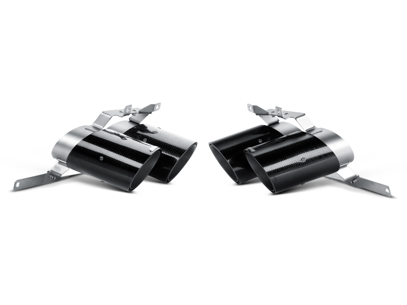 Akrapovic 10-14 Lamborghini Gallardo LP 570-4 Coupe/Spyder Tail Pipe Set (Carbon)