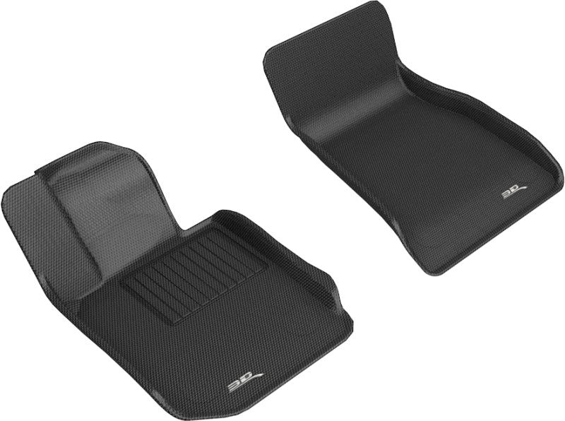 3D MAXpider 2019-2020 BMW 3 Series (G20) Kagu 1st Row Floormat - Black