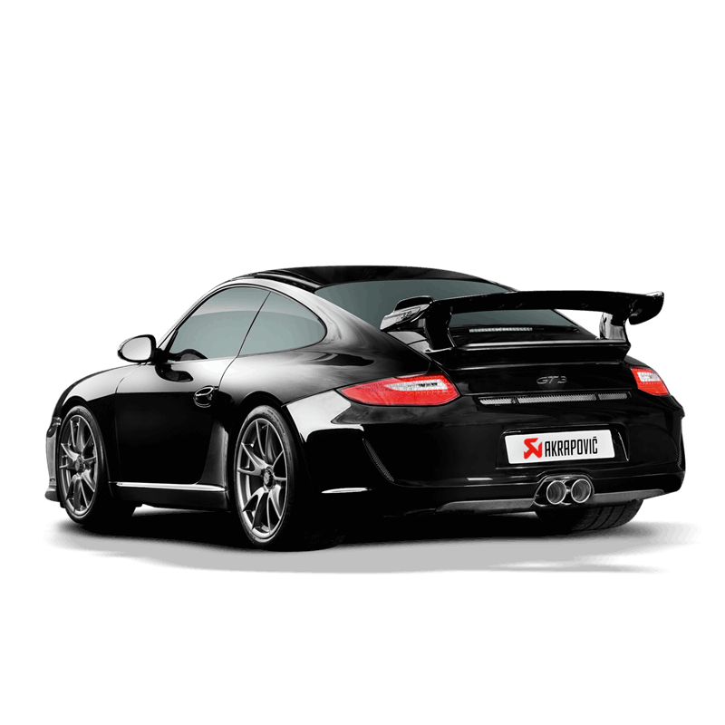 Akrapovic 09-12 Porsche 911 GT3/RS 3.8 Evolution Line w/ Header (Titanium) - Req 01-08-28-0001