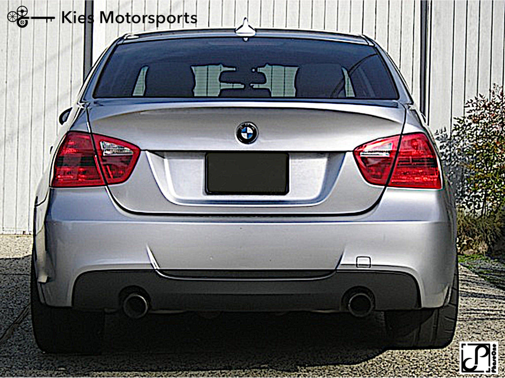 2007 2011 Bmw E90 3 Series M Sport Style Rear Bumper Conversion Kies Motorsports