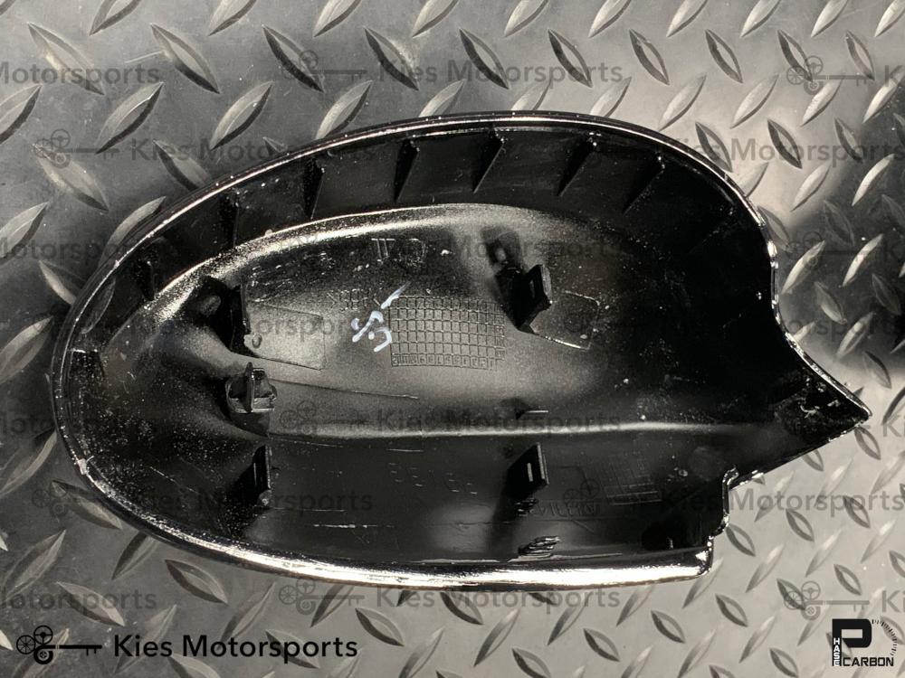 2006-2008 BMW E90 Pre-LCI 3 Series OEM Replacement Carbon Fiber Mirror Covers - Kies Motorsports