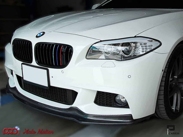 2011-2016 BMW F10 5 Series Arkym Style Carbon Fiber Front Lip