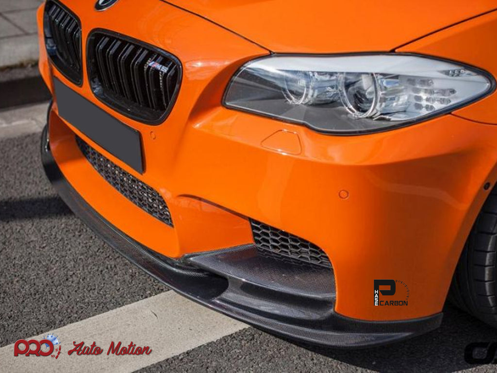 2011-2016 BMW F10 M5 3D Style Carbon Fiber Front Lip (Made-to-Order)