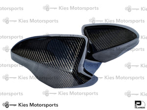 2011-2016 BMW F10 M5 OEM Replacement Carbon Fiber Mirror Covers