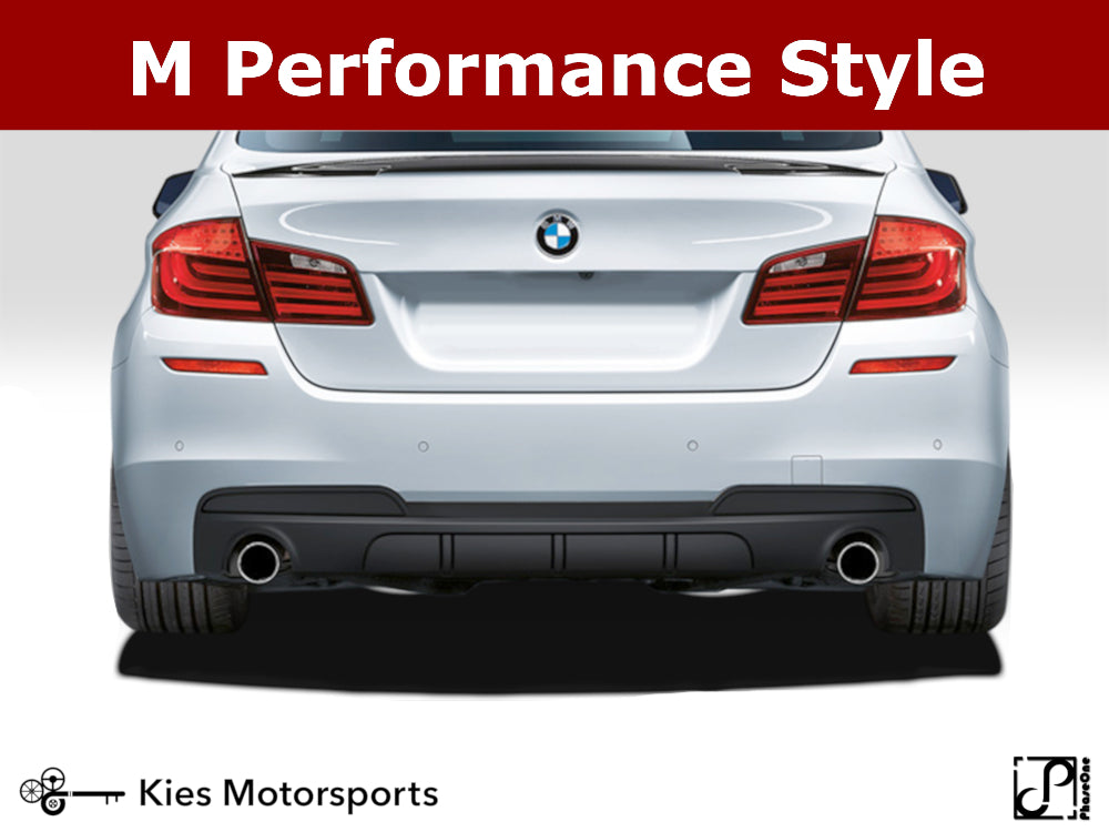 2011-2016 BMW F10 5 Series M Performance Style Rear Diffuser