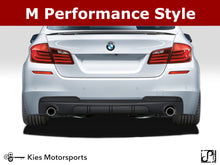 Load image into Gallery viewer, 2011-2016 BMW F10 5 Series M Performance Style Rear Diffuser