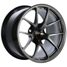Load image into Gallery viewer, BBS RI-A 18x8.5 5x112 ET45 Diamond Black Wheel -82mm PFS/Clip Required