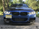2012-2018 BMW F30 3 Series M Performance Style Carbon Fiber Front Lip