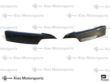 Load image into Gallery viewer, 2012-2018 BMW F30 3 Series Carbon Fiber Front Bumper Splitters
