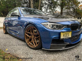 2012-2018 BMW F30 / F31 Performance Style Carbon Fiber Side Skirt Extensions (320, 328, 335, 340) - Kies Motorsports