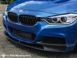 2012-2018 BMW F30 3 Series M Performance Style Front Splitter Lip