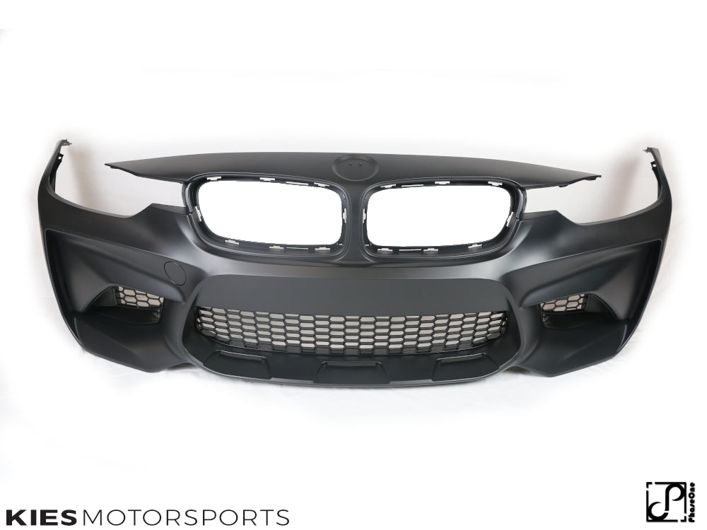2012-2018 BMW F30 3 Series M2 Style Front Bumper Conversion - Kies Motorsports