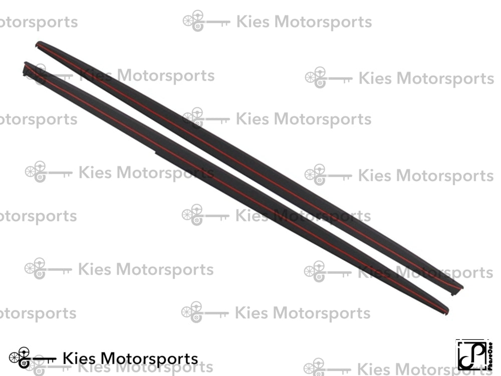 2012-2018 BMW F30 3 Series M Performance Style Side Skirt Extensions