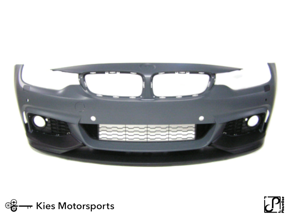 2014+ BMW F32 4 Series M Performance Style Front Splitter Lip