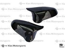 Load image into Gallery viewer, 2014+ BMW F80 M3 / F82 M4 / F87 M2 Competition OEM Replacement Dry Carbon Fiber Mirror Covers