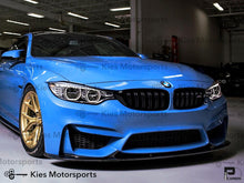 Load image into Gallery viewer, 2014+ BMW F80 M3 / F82 M4 3D Style Carbon Fiber Front Lip - Kies Motorsports