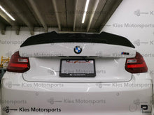 Load image into Gallery viewer, BMW F22 2 Series F87 M2 Carbon Fiber High Kick Aggressive Style Trunk Spoiler - Kies Motorsports