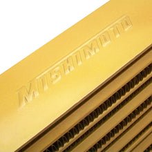 Load image into Gallery viewer, Mishimoto Eat Sleep Race Special Edition Gold M-Line Intercooler