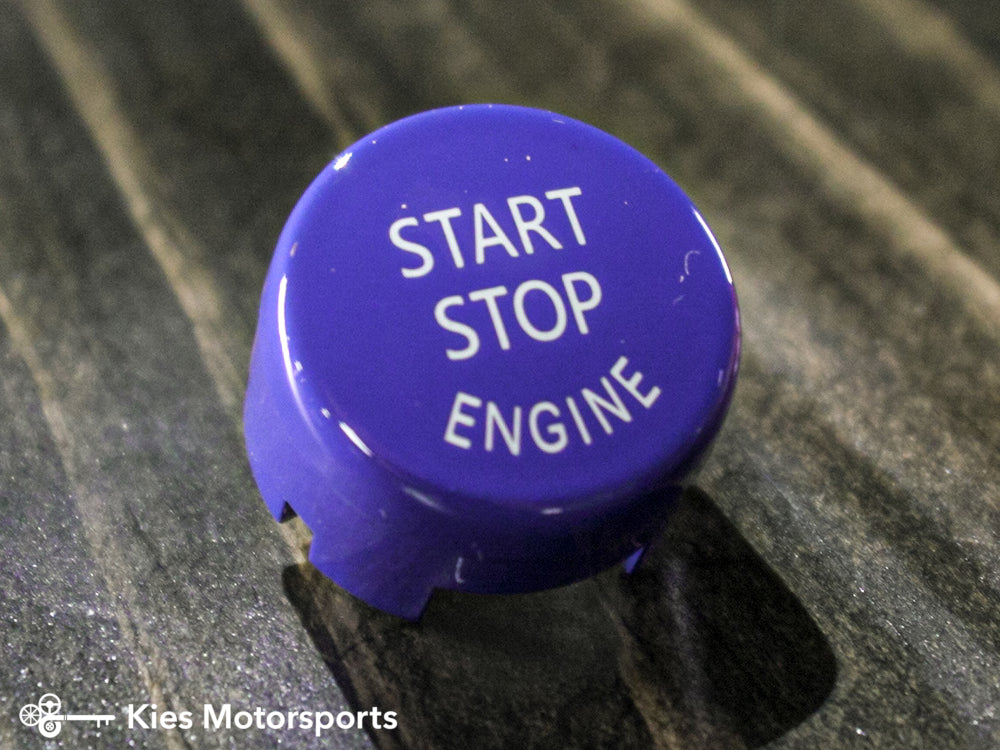 Colored Start Stop Buttons for BMW E & F Chassis Vehicle (Various Colors)