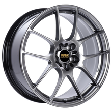 Load image into Gallery viewer, BBS RF 18x8 5x120 ET35 Diamond Black Wheel -82mm PFS/Clip Required