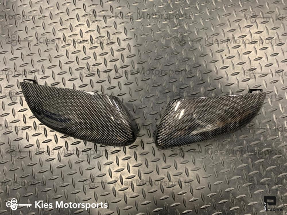 DISCONTINUED 2017+ BMW G20 3 Series OEM Replacement Carbon Fiber Mirror Covers