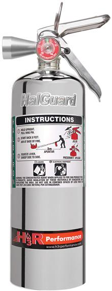 (UNAVAILABLE) HALGUARD Clean Agent Car Fire Extinguisher 5 lb - Kies Motorsports
