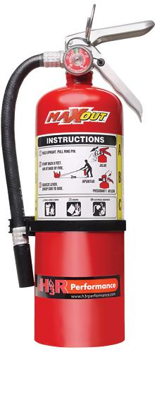 (UNAVAILABLE) MAXOUT Dry Chemical Car Fire Extinguisher 5 lb - Kies Motorsports