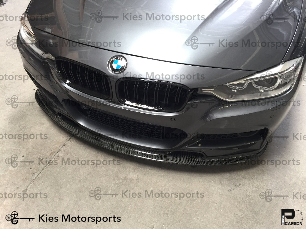 2012-2018 BMW F30 3 Series Varis Style Carbon Fiber Front Lip