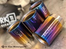 Load image into Gallery viewer, RK Titanium BMW F80 / F82 (M3 / M4) Exhaust Tips Set - Kies Motorsports
