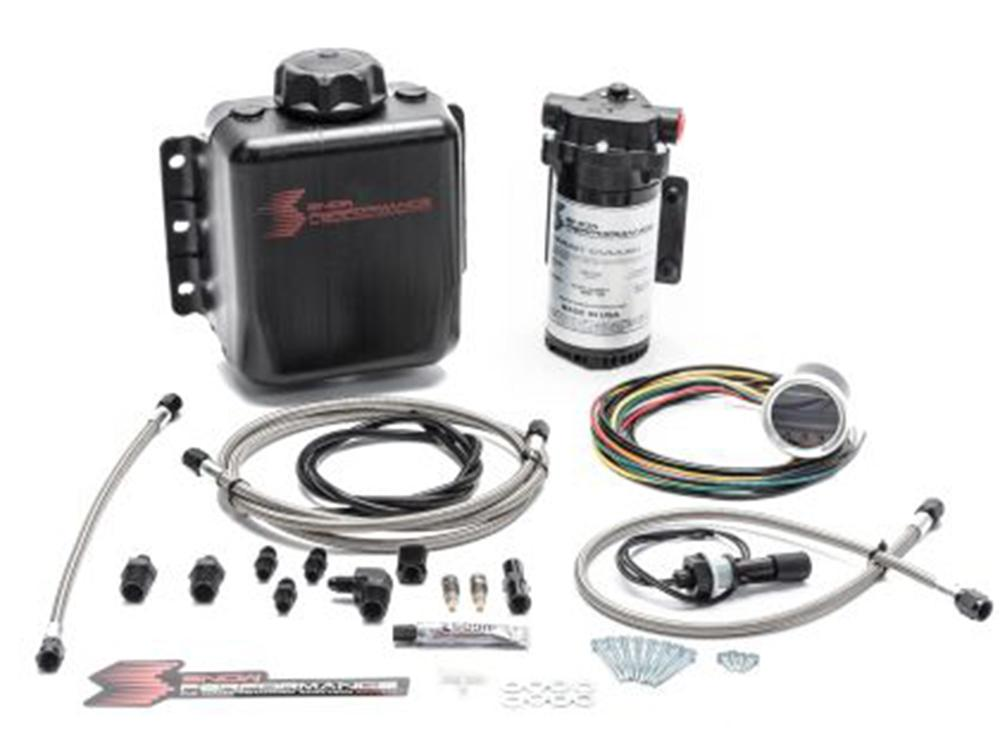 Snow Performance Water Methanol Stage 2.5 Kit with Stainless Lines with AN Fittings - Kies Motorsports