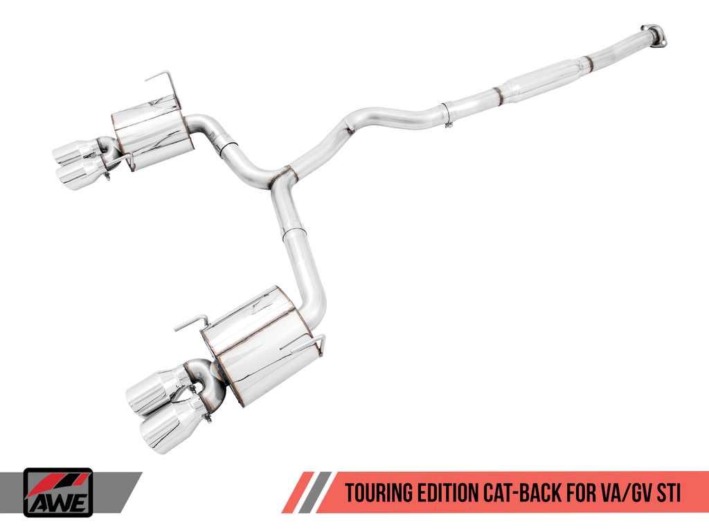 AWE Performance Exhaust Suite For EJ25-Equipped WRX And STI