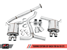 Load image into Gallery viewer, AWE Performance Exhaust Suite For EJ25-Equipped WRX And STI
