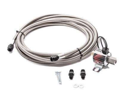 Snow Performance Stainless Steel AN Line Trunk Mount Upgrade 4AN SS Braided Line Systems
