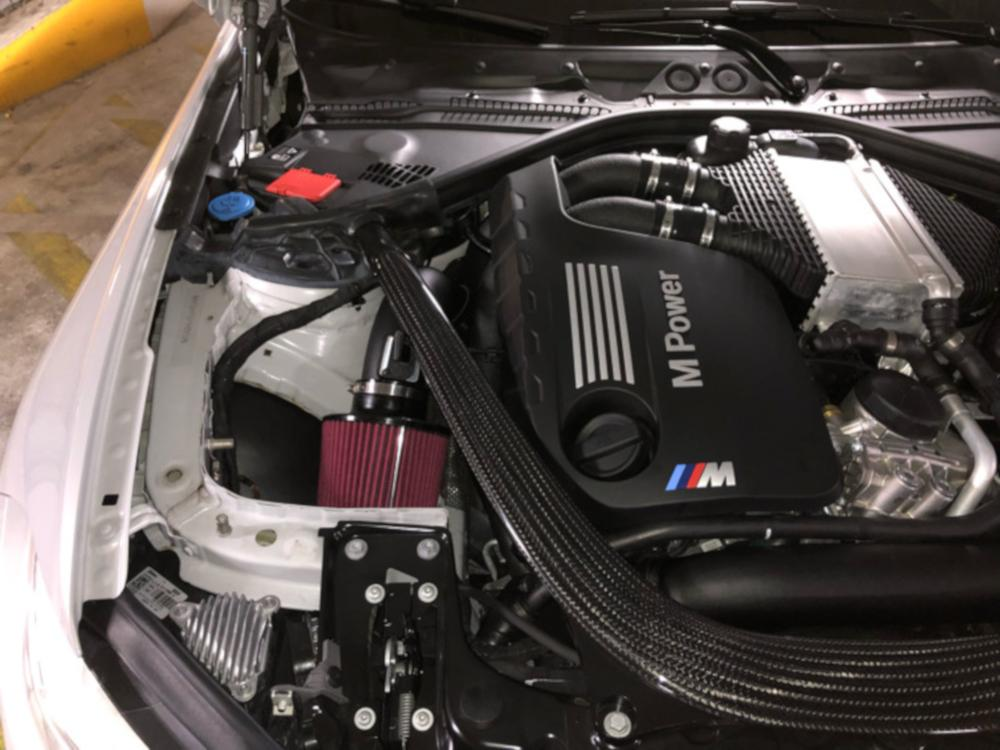 VRSF High Flow Upgraded Air Intake Kit 15-18 BMW M3 & M4 F80 F82 S55 - Kies Motorsports