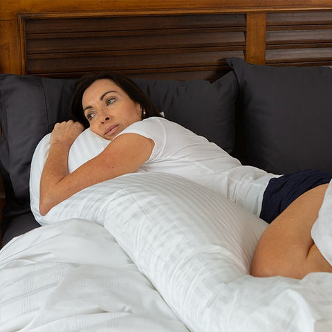 Pregnancy pillow photo