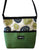 Bernie Green Wheel Geometric Print Crossbody Bag
