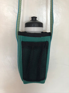 Water Bottle Holder With Mesh Pocket