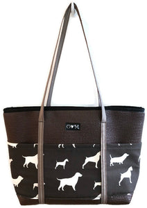 Molly Brown Dog Print Tote Bag