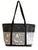 Molly Black tote gray Dog